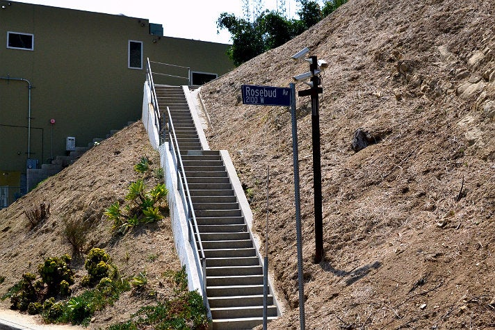 Discover the hidden stairs of los angeles for Glassell park recreation center swimming pool
