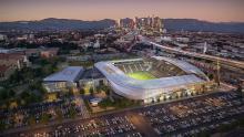 Rendering of Los Angeles Football Club Stadium